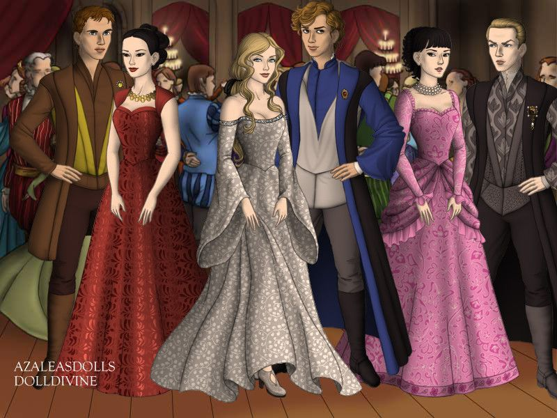 Cedric And Cho Fleur And Roger Davies Pansy And Draco Yule Ball