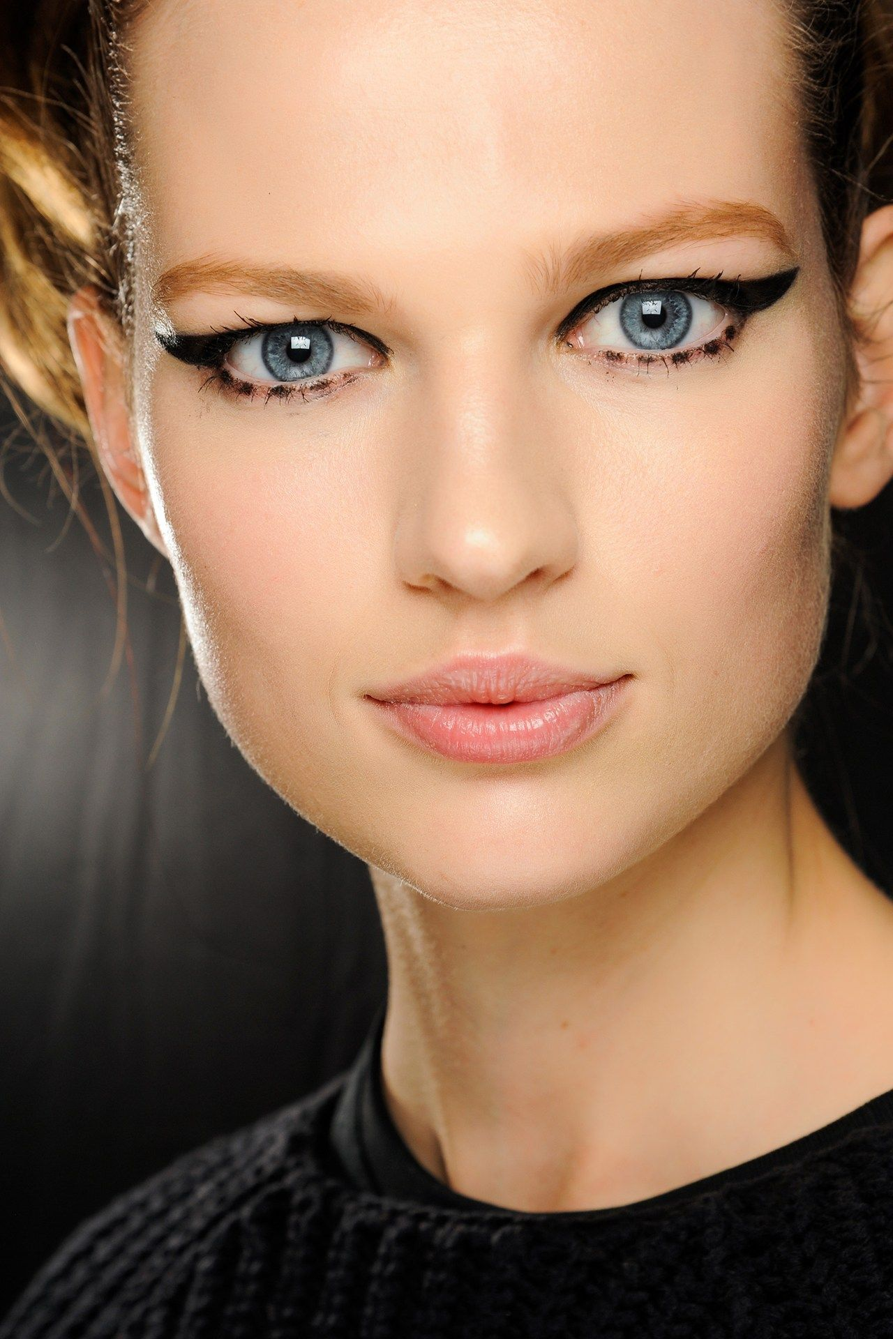 cat eye at Anna Sui (With images) Beauty, Nyfw beauty
