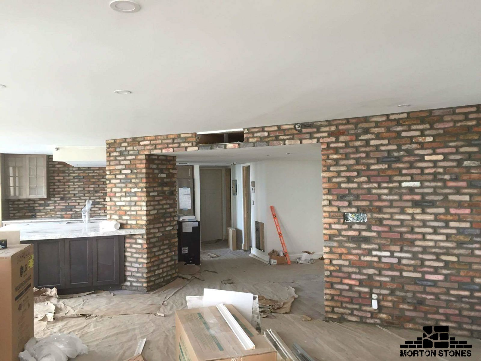 Brick Walls Add Warmth And Character To The Home Mortonstones