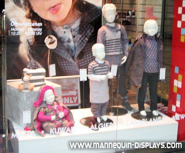 Realistic Child Mannequins Aeshm 377 Mannequins Child
