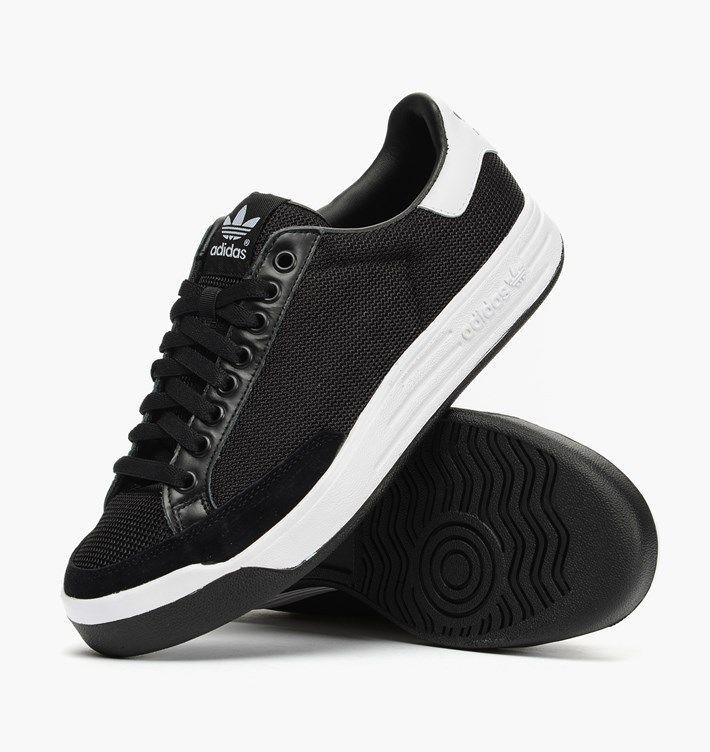 huge discount 463ee 351e2 caliroots.com Rod Laver adidas Originals S82641 Black   White! 176769