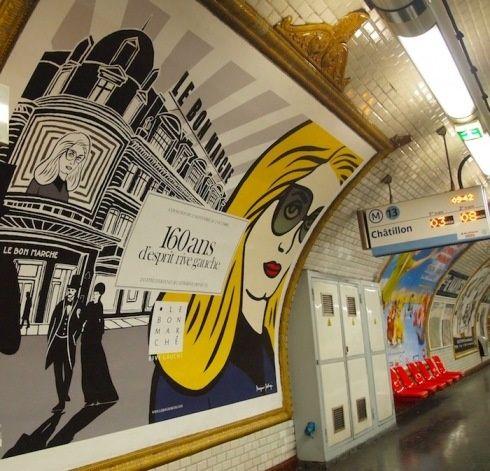 #Metrô #Paris
