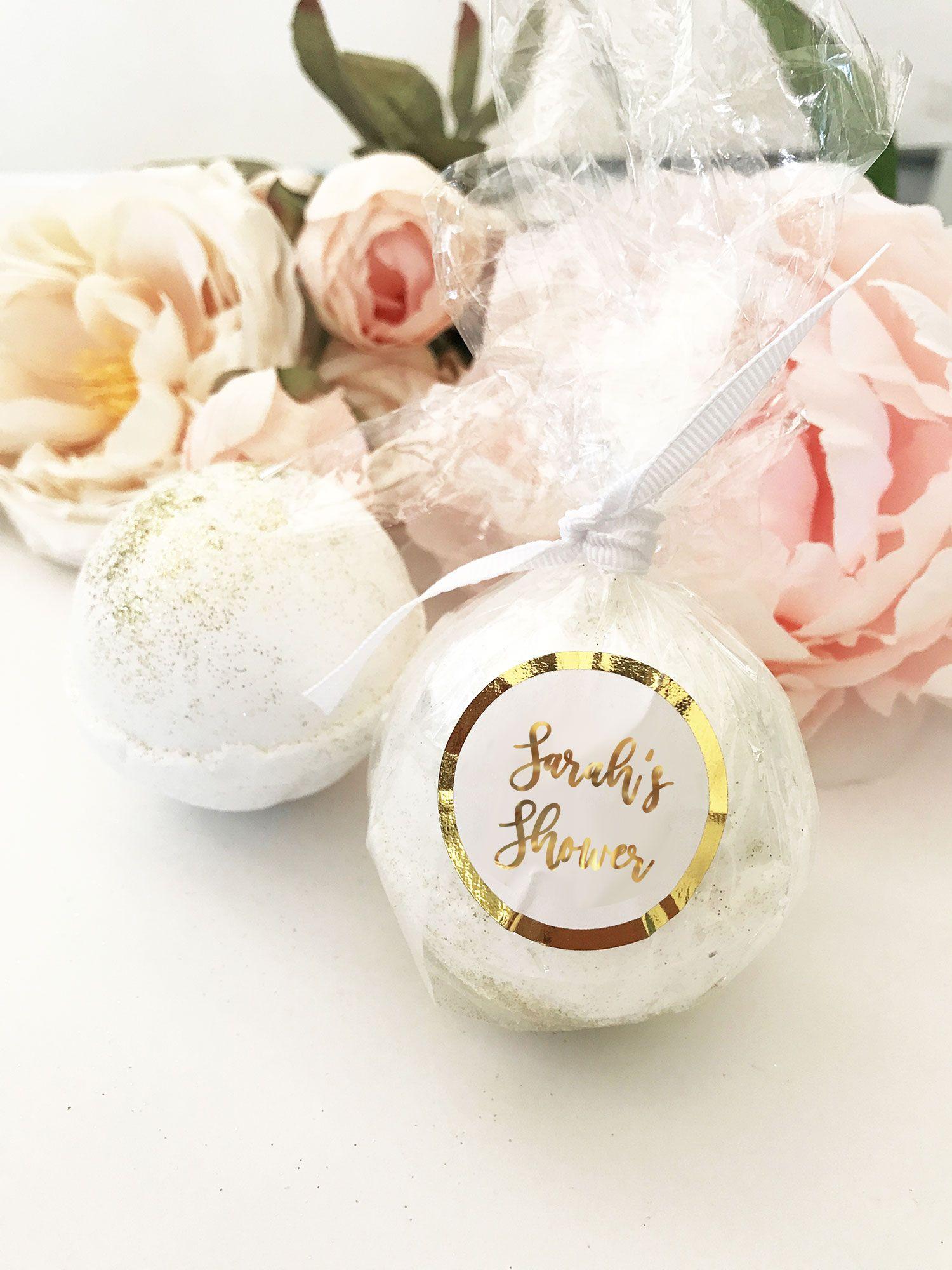 Bath Bomb Favors Bridal Shower Favors Spa Party Favors Spa Bridal Shower Bridal Shower Party Personalized Bridal Shower Favors