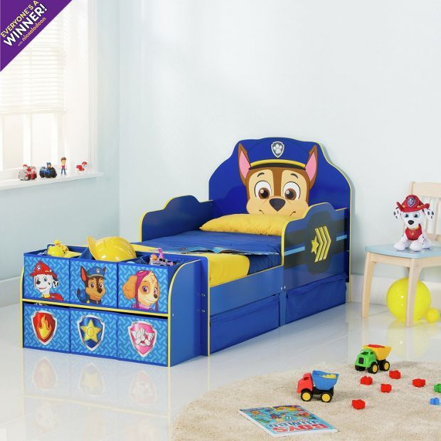 Buy Paw Patrol Cube Toddler Bed Frame