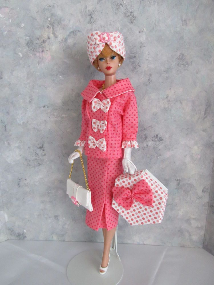 Vintage Barbie/Silkstone In the Pink! OOAK Handmade by Ann