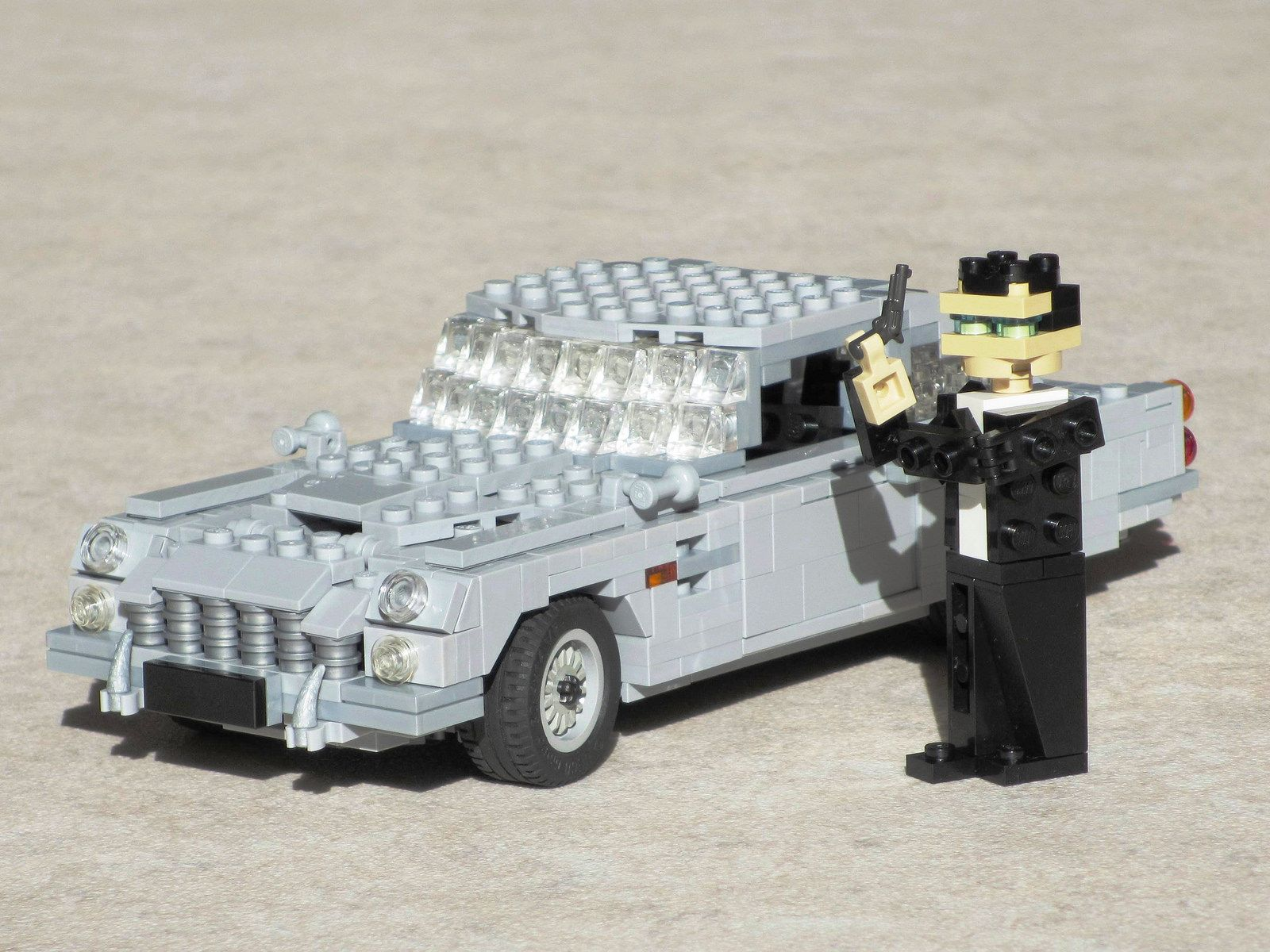james bond's aston martin db5: a lego® creationchris white