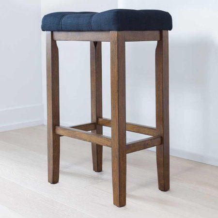 Peachy Hylie Wood Kitchen Counter Bar Stool 24 Inch Black Tuft Forskolin Free Trial Chair Design Images Forskolin Free Trialorg