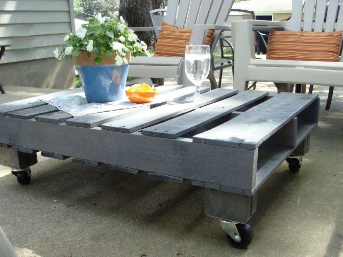 1001 id es brico pour r aliser une table basse en palette diy palette furniture