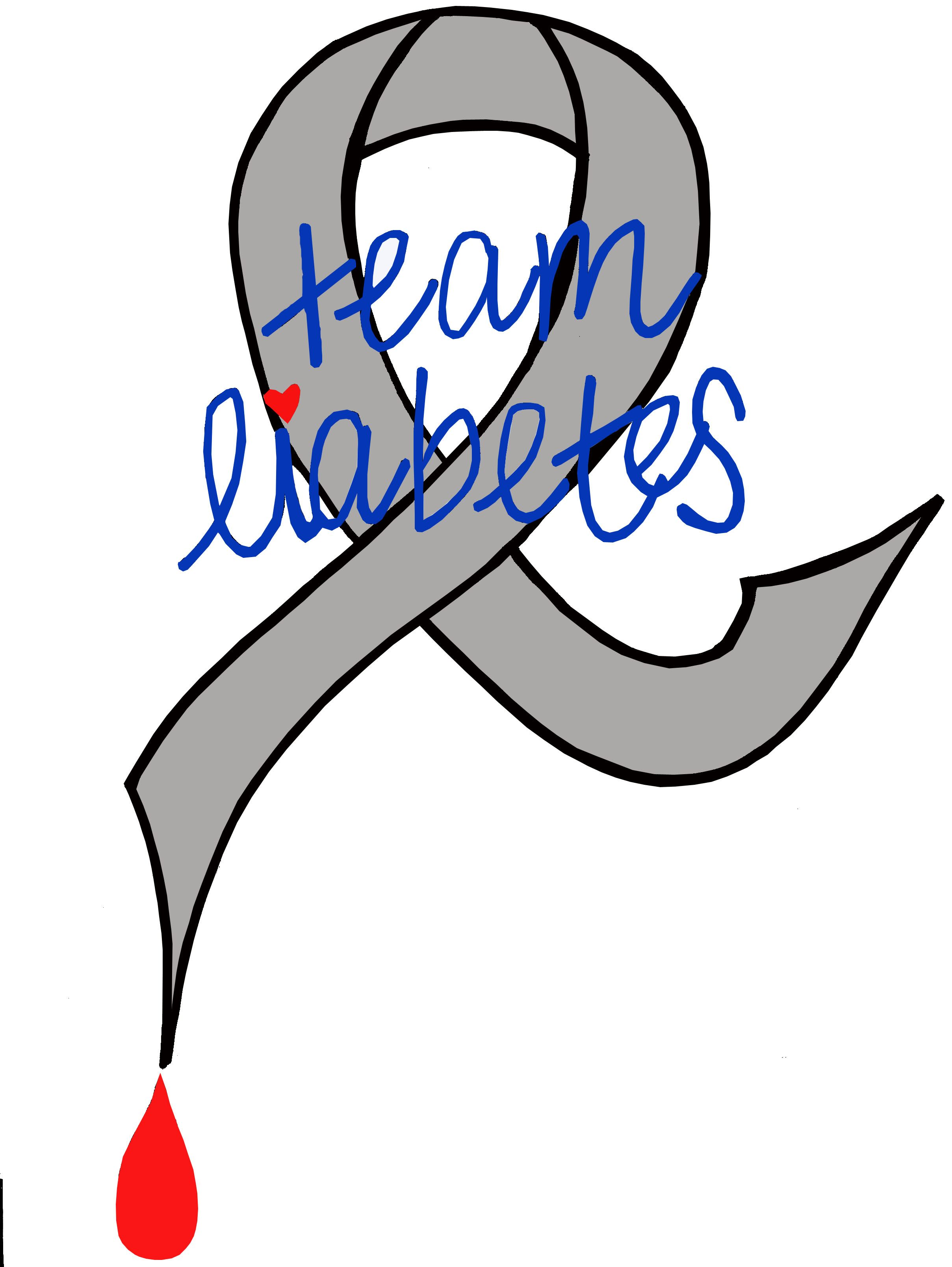 Logo for our walk to cure tshirts.