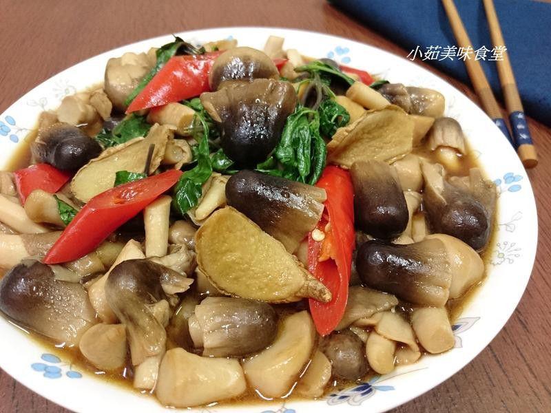 麻油塔香草菇 - 愛料理