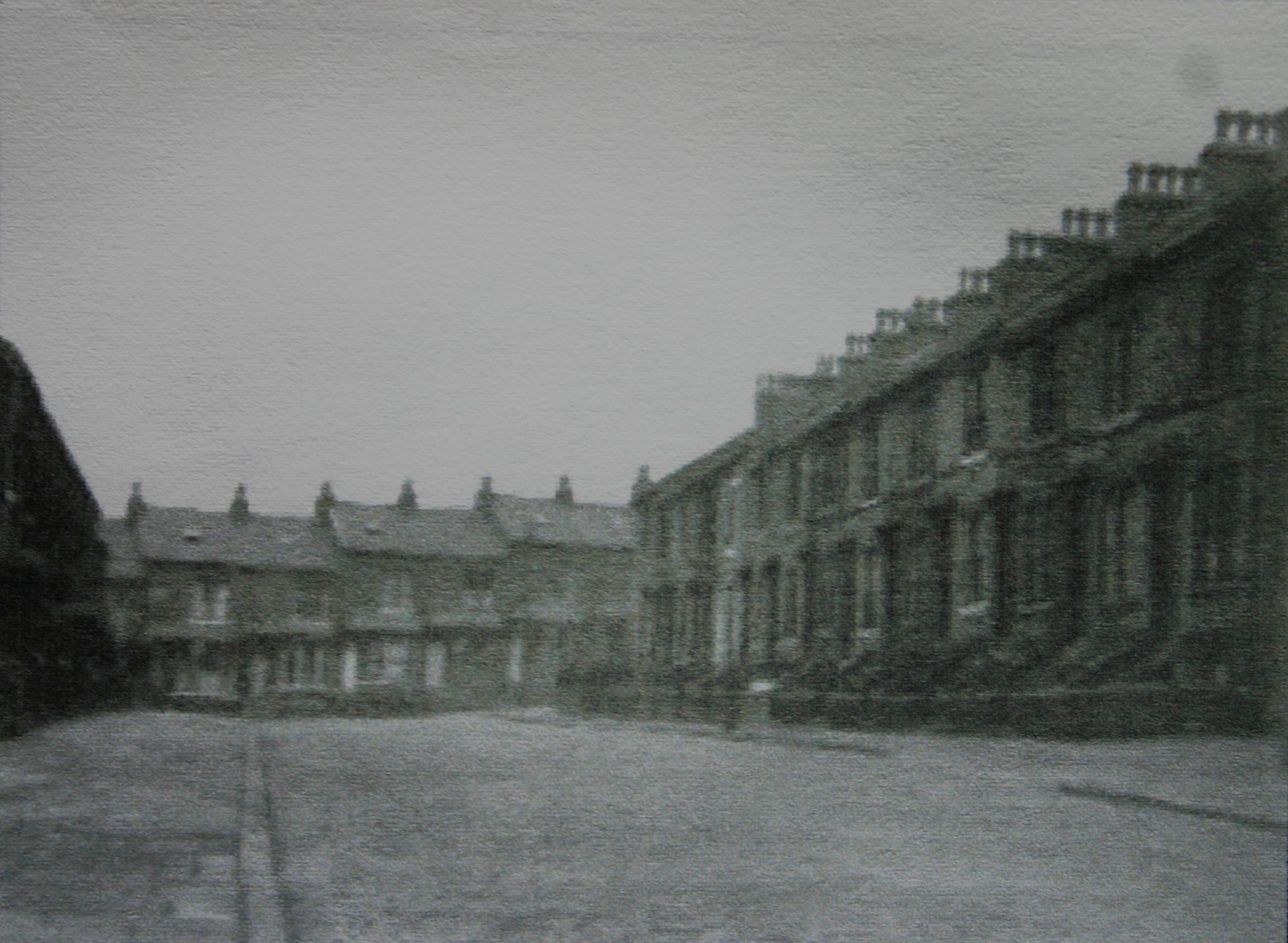 Byron Street Leading To Junction With The Top Of Tennyson