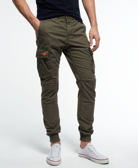 Men's Rookie Grip Cargo Pants In Parachute Green. These