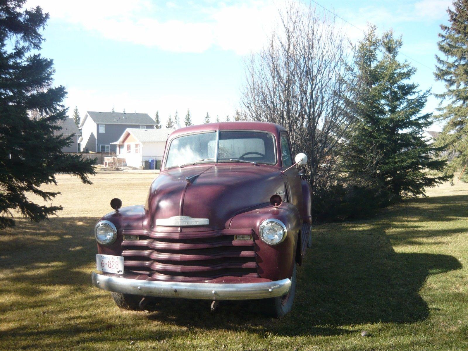 Original condition 1948 Chevrolet Pickup Thriftmaster truck ...