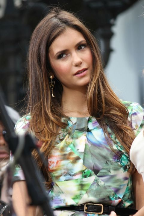 ombre hair and nina dobrev people