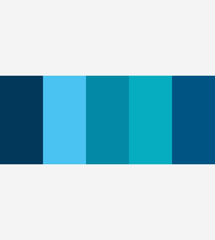 Fantstico Gama De Azules Bosquejo Ideas de Decoracin de