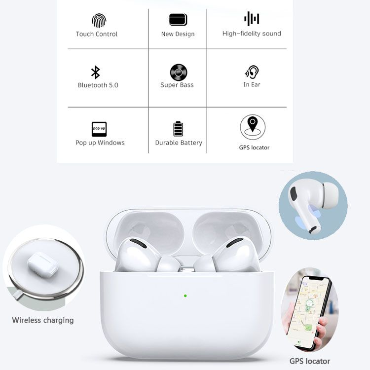 Airpods Pro The New Version Of Apple S Wireless Headset Model Airpods Will Be Introduced Soon However Before This Promot Airpods Pro Apple Wireless Headset