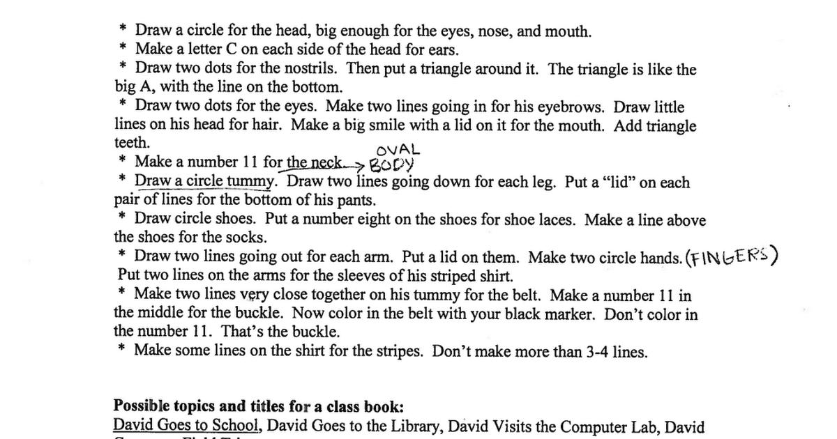 no david pdf