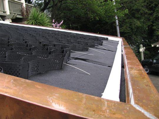 Green Roof Parapet Details Google Search Parapet Green Roof Brick House