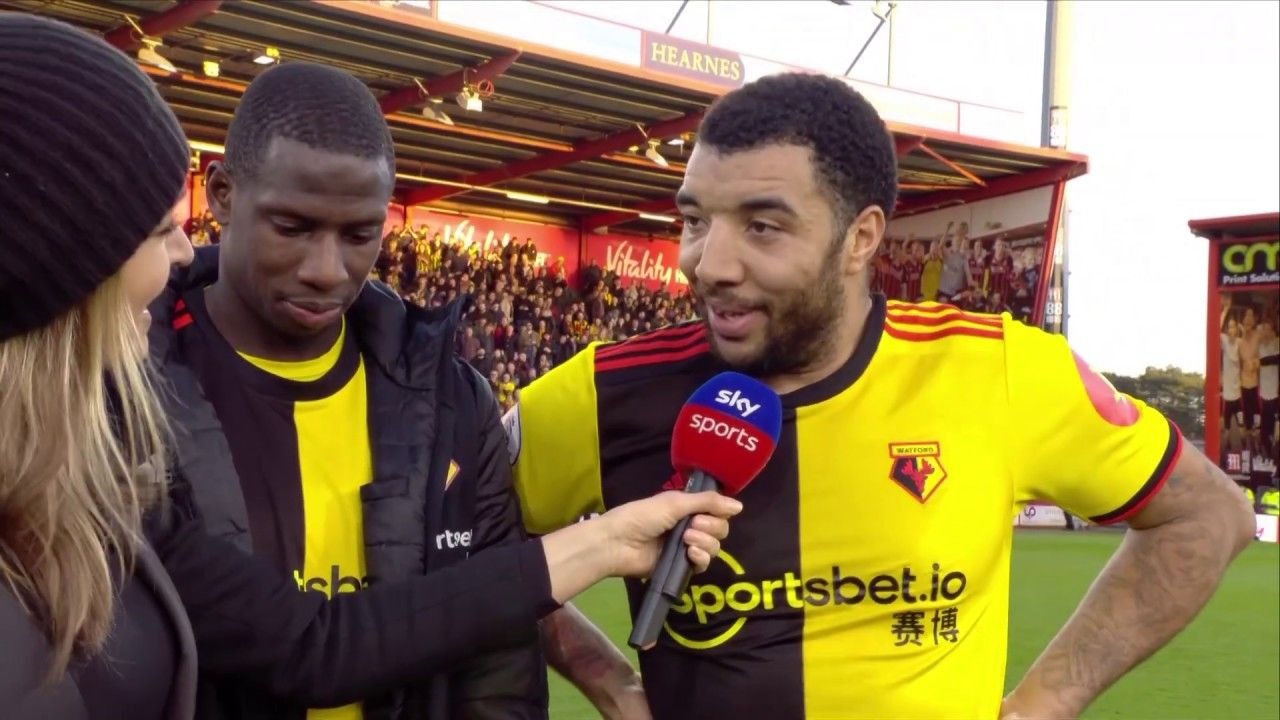 SUBSCRIBE PREMIER LEAGUE HIGHLIGHTS Troy Deeney and