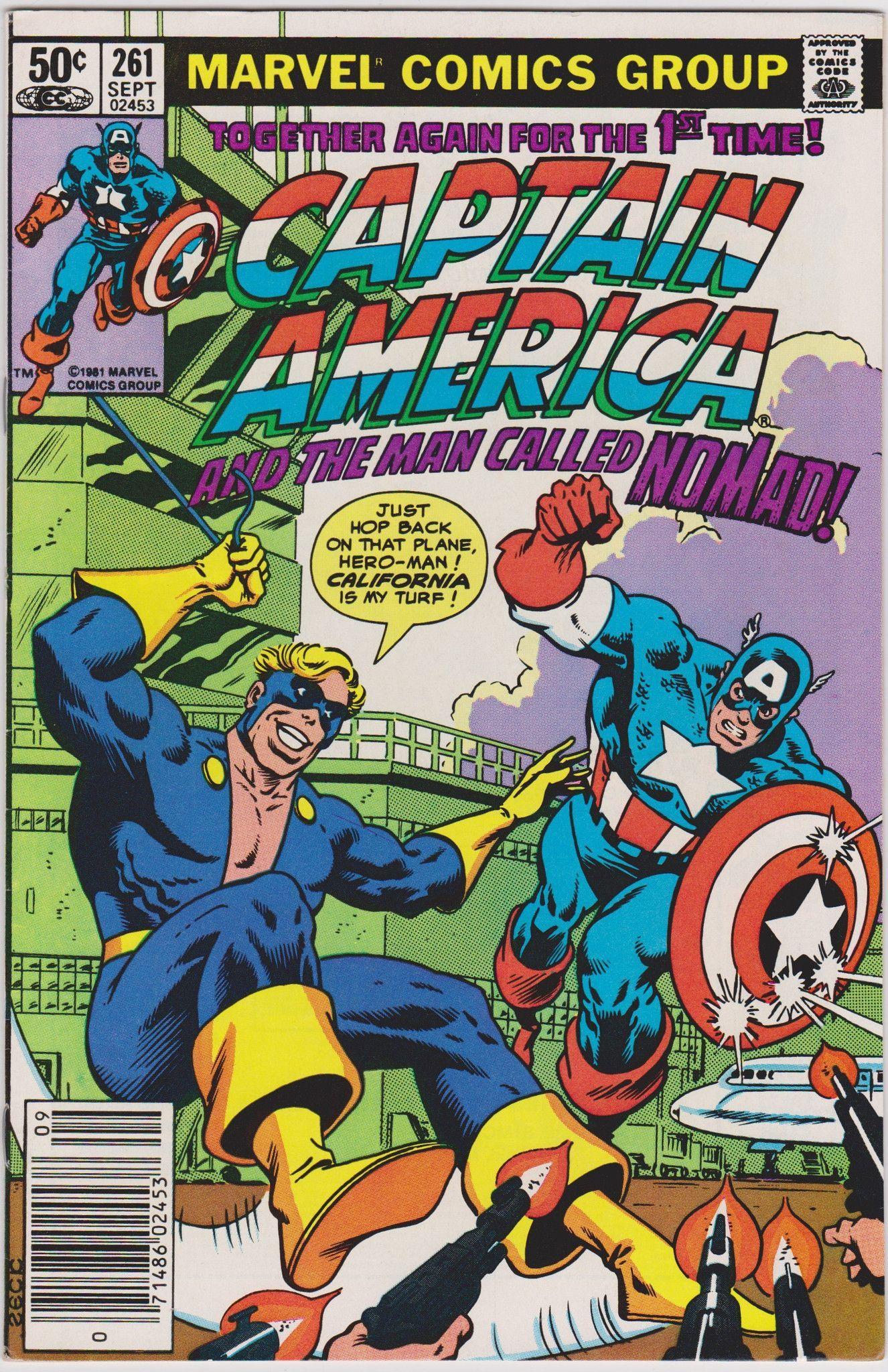 Captain America #261 Marvel Comics FN/VF 7.0