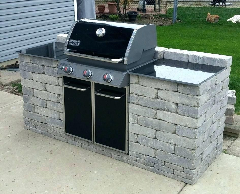 Ideas To Use Weber Outdoor Kitchen In 2020 Outdoor Grill Island Outdoor Grill Build Outdoor Kitchen