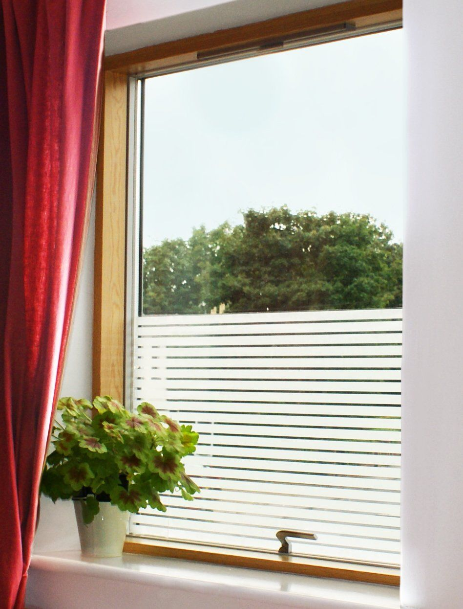 White Lines Privacy Window Film Internal Amazoncouk Garden