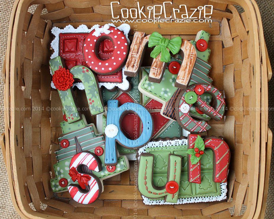 Homespun Christmas Cookie Collection (2014)