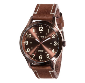 Mason Watch by Tokyo Bay, Brown with Brown Metal Dial