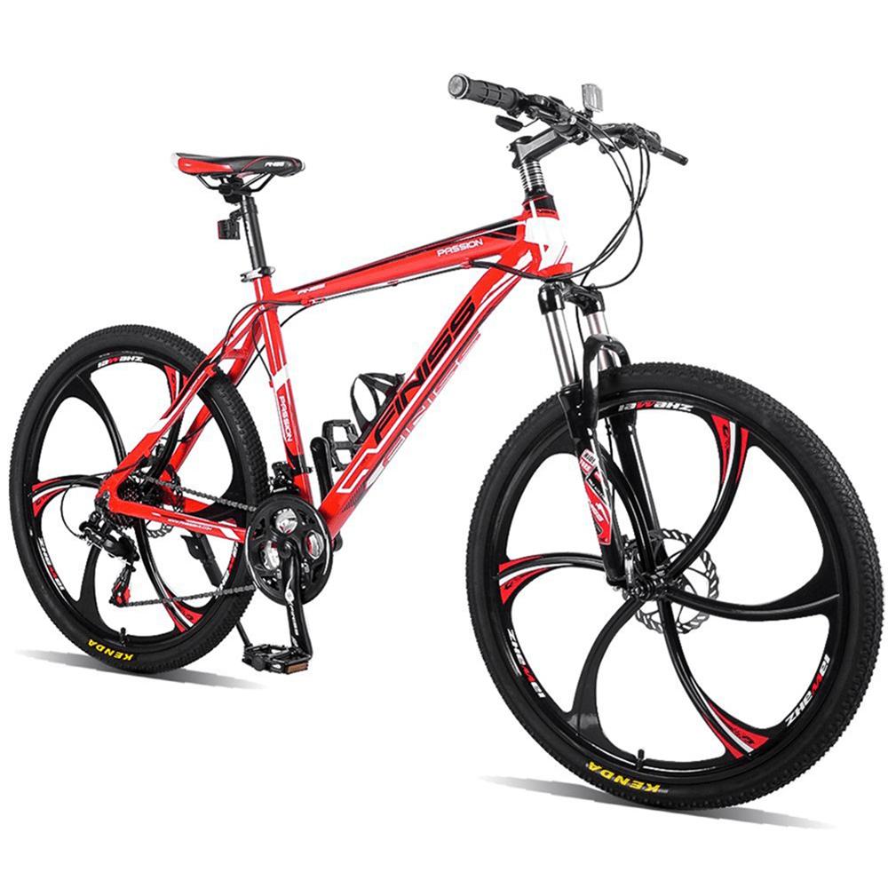 Merax Finiss 26 Aluminum 21 Speed Mg Alloy Wheel Mountain Bike