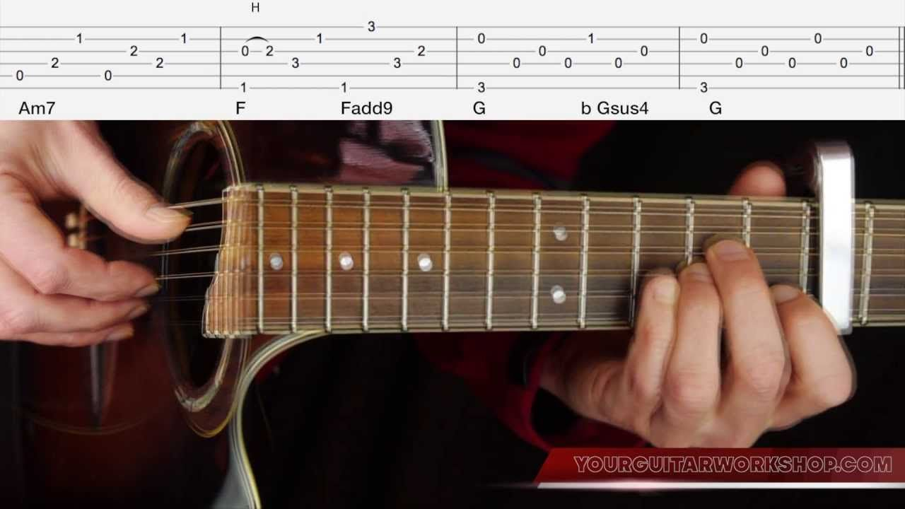 Guitar Lesson Tab Let Her Go By Passenger 36 Part3how To Play