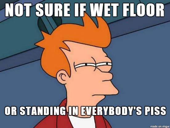 Swimming Pool Urinal : Urinals at a swimming pool meme