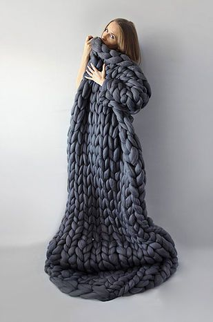 Oversized Merino Wool Scarf - Hint of Spring by VIDA VIDA O1dLd1k