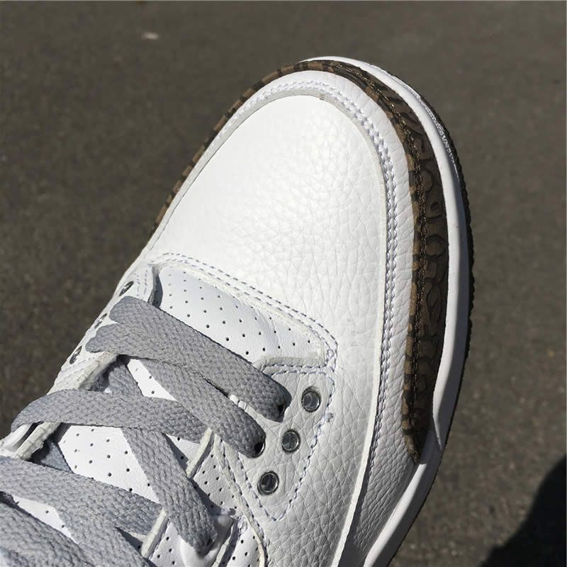 pretty nice d205d 60837 air jordan 3 mocha 2018 white chrome dark brown 136064 122 detail images (1)