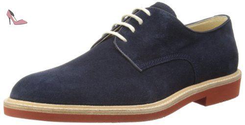 Russel 50723/01, Chaussures de ville homme - Noir (Black Calf), 46 EU (12 UK) (12 US)Florsheim