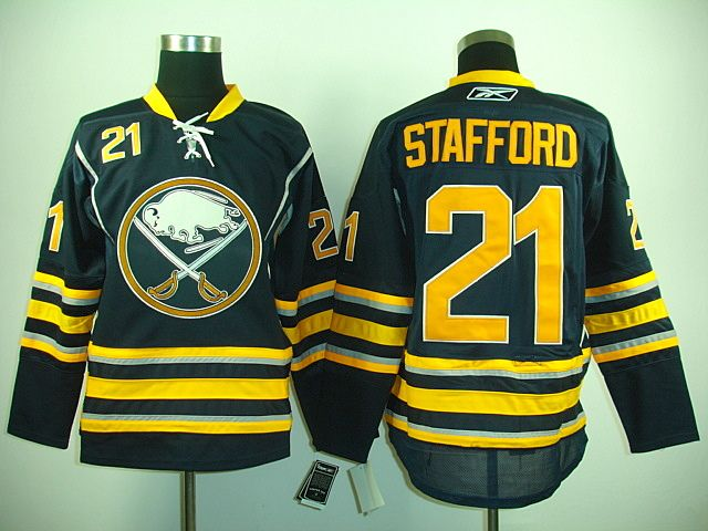 Buffalo Sabres 21 Drew STAFFORD Home Jersey