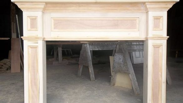 Living Best 10 Fireplace Surround Kit Ideas On Pinterest Vintage For Fireplace Mantel Surround Ki Fireplace Mantel Surrounds Mantel Surround Fireplace Mantels