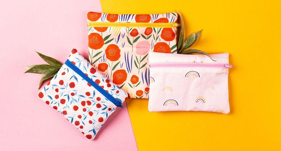 Comment faire des sacs à collation réutilisables – modèle gratuit | Club de tissus   – couture