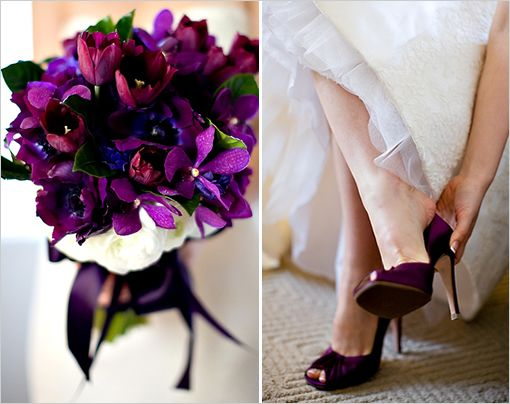 Purple Wedding Ideas By Jennifer S Rau Photography