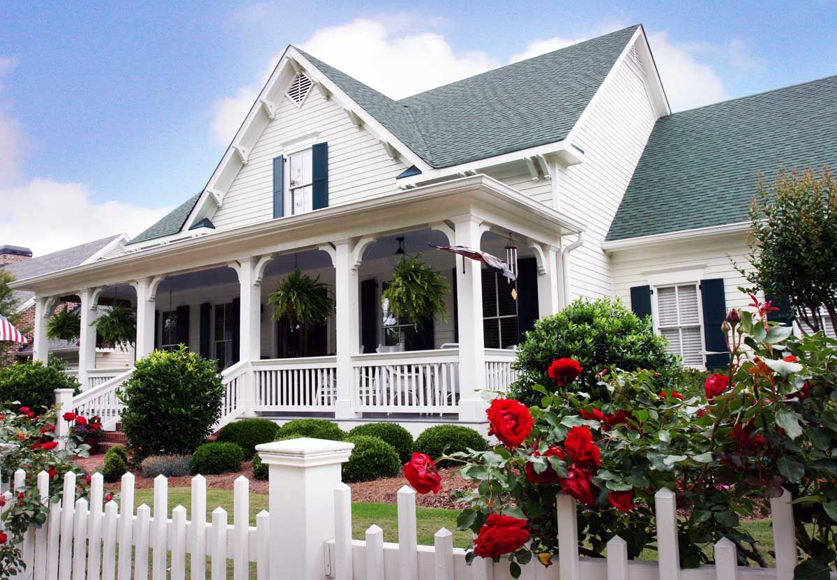 Plan 70002CW Country Cottage With 3 Porches Southern
