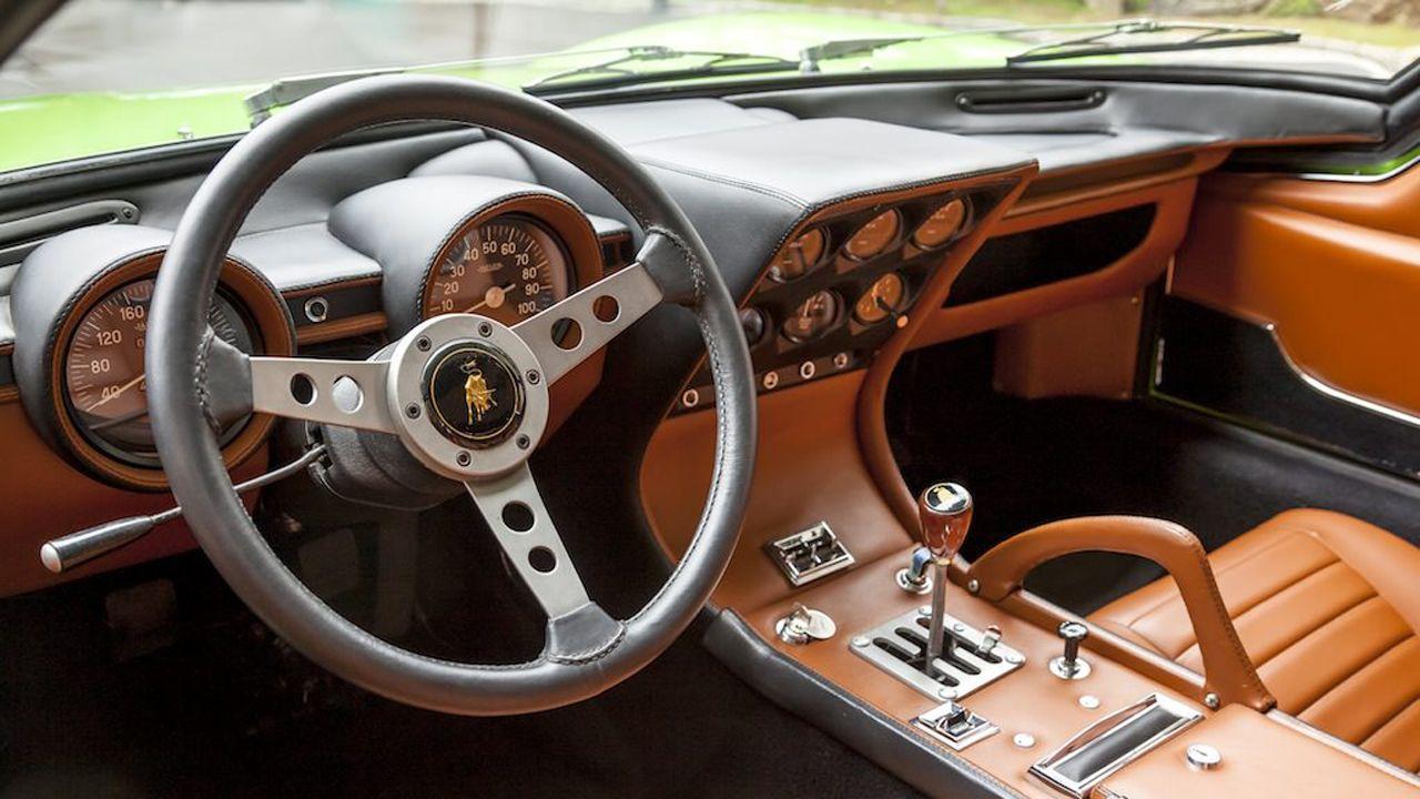 Car interior maintenance - 1969 Lamborghini Miura P400s Interior Maintenance Restoration Of Old Vintage Vehicles The Material
