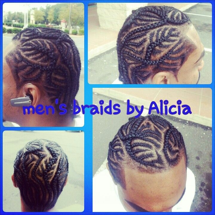 Menu0027s Braids. Iverson Braids Scalp Braids