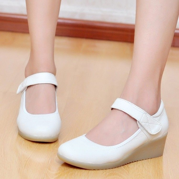 White Black Tassels Flats Women Loafers Genuine Leather Designer ...
