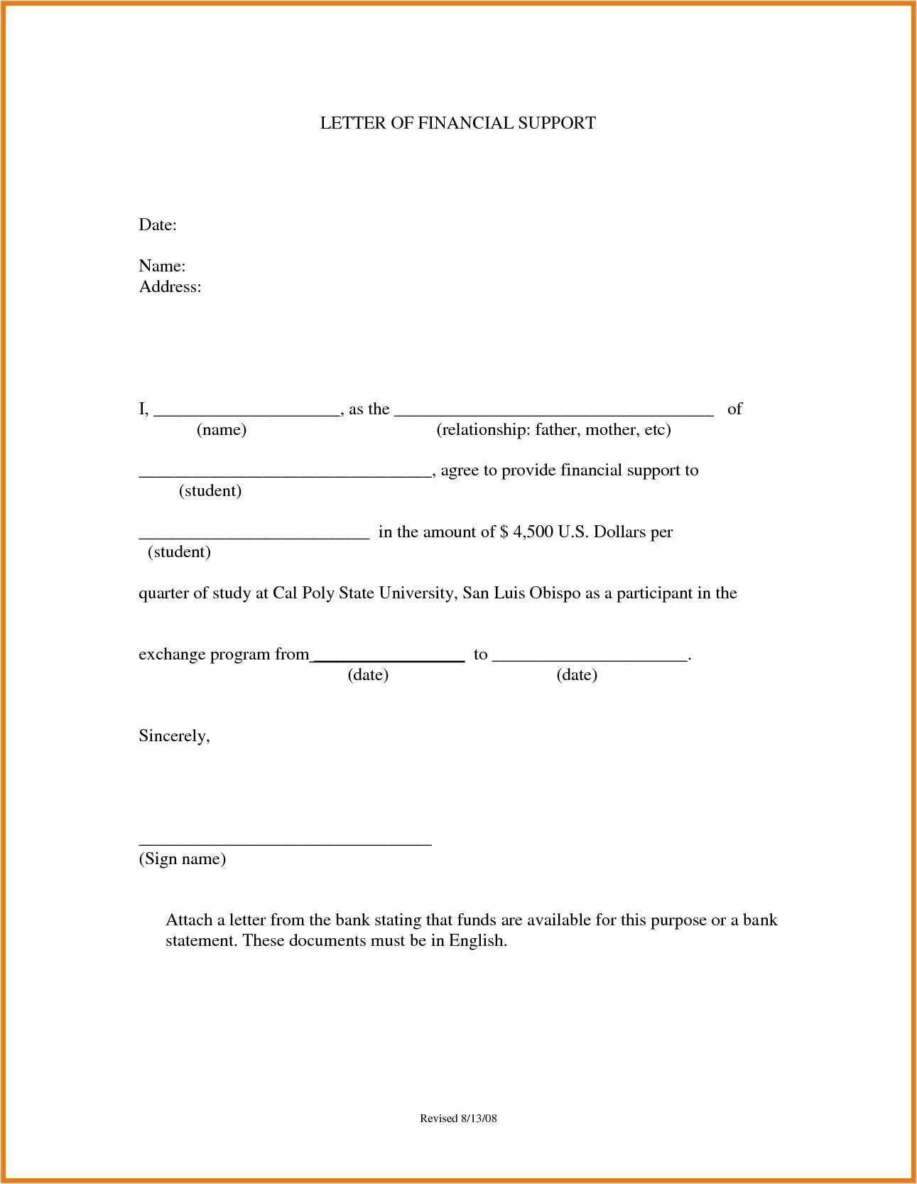 Best Refrence New How To Write Appeal Letter For Financial Support