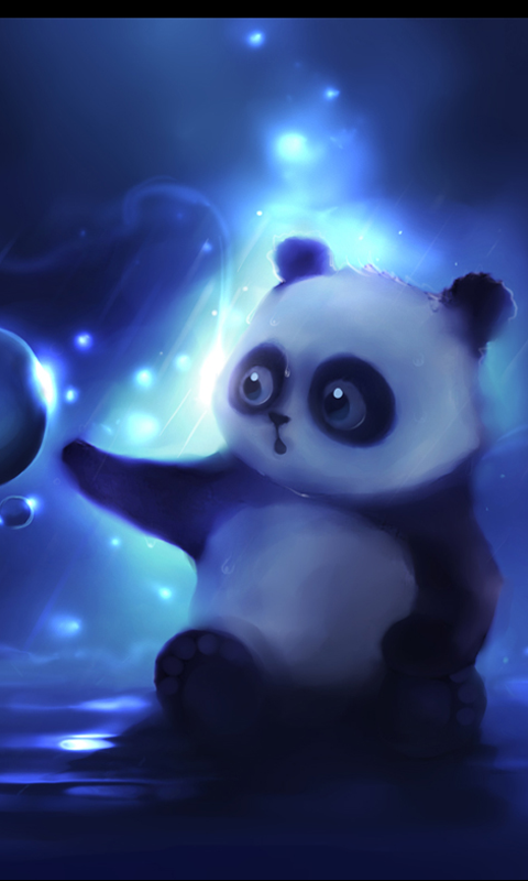 Cute Wallpapers for Android - WallpaperSafari   Panda in 2019   Pinterest   Panda art, Panda ...