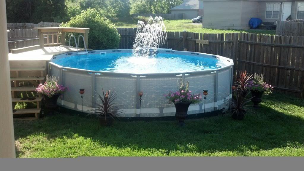16 39 x 48 diy project 24k warning pool stuff 16x48 - Diy above ground pool ...
