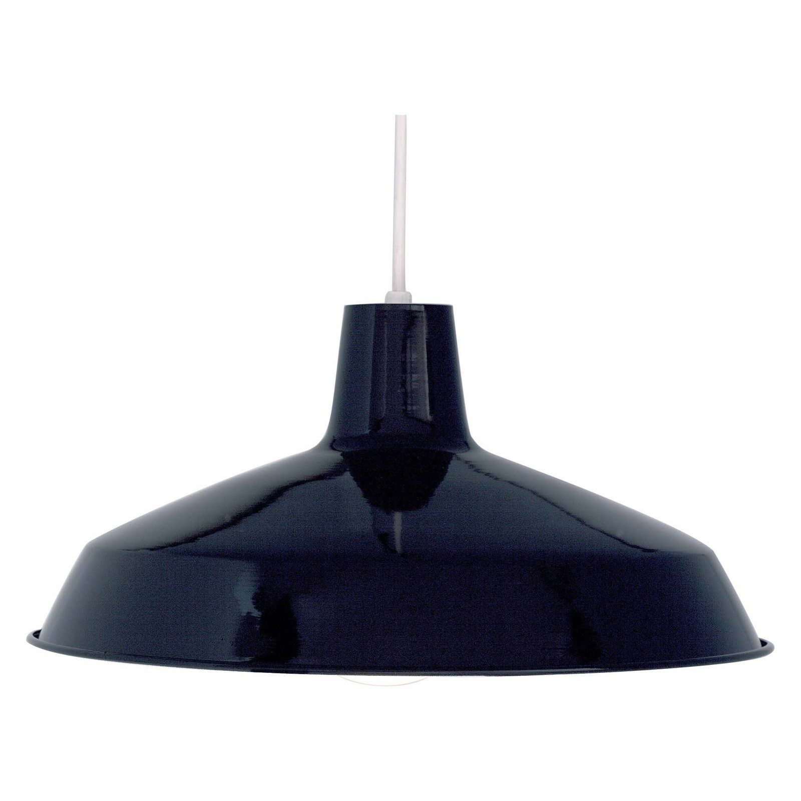 Nuvo warehouse shade in black w in transitionally