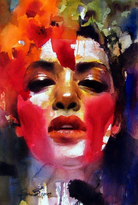 Best Watercolor Portraits By Famous Artists Fine Art Blogger