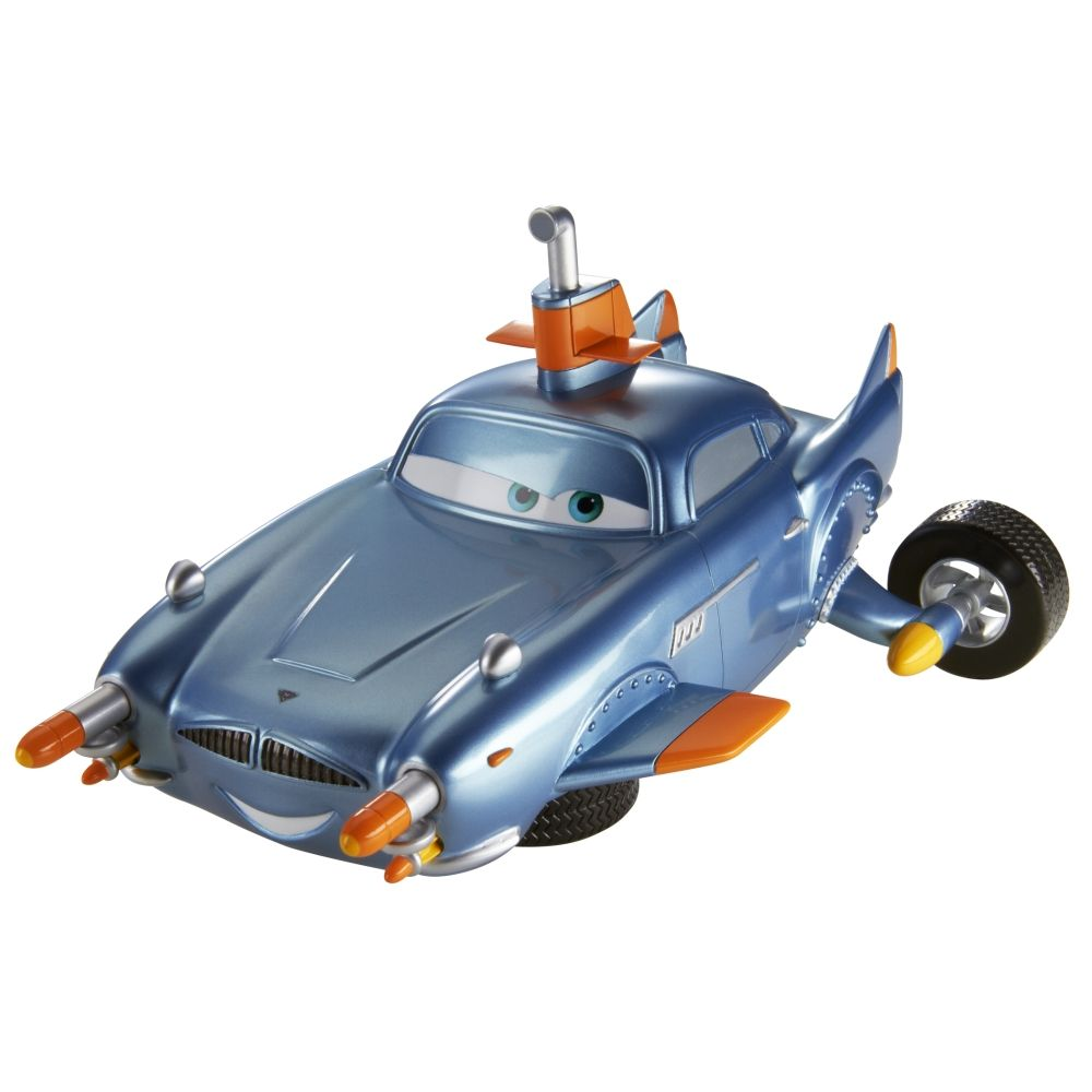 Cars 2 Spy Attack Finn Mcmissile: Cars 2 SPY SHIFTERS™ Transforming Submarine Finn McMissile