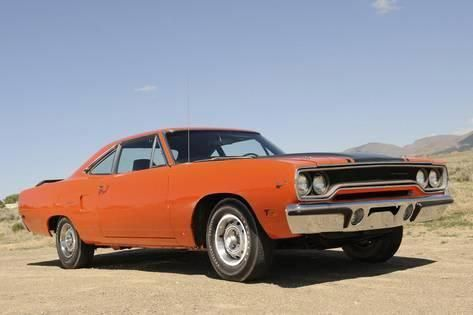 Photographic Print: Plymouth Hemi Roadrunner 1970 by Simon ...