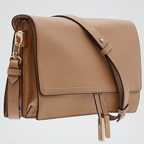 Reiss Marcel Cross Body Day Bag Truffle Online At Johnlewis
